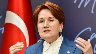 İYİ Parti Genel Başkanı Meral Akşener.