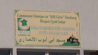Strasbourg Milli  Görüş Eyüp Sultan Camii