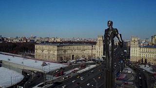 Russland feiert Juri Gagarin - Vor 60 Jahren flog er als erster Mensch ins All