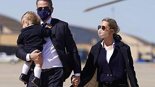 Hunter Biden mit Sohn Beau und seiner Frau Melissa Cohen