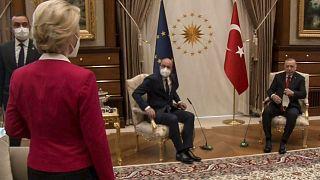 رئيسة المفوضية الأوروبية في زيارة لتركيا