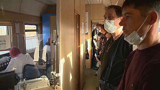 Vakcinavonatot indított Oroszország Szibériában