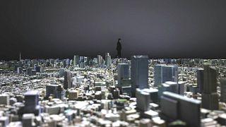 مجسم لمدينة طوكيو بتفاصيل متناهيو في  الدقة وبمقياس واحد من الألف