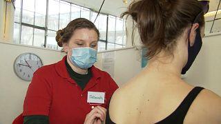 Vacunación con AstraZeneca