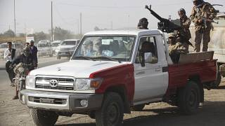 نیروهای  هوادار دولت عبد ربه منصور هادی در مآرب/آرشیو ۲۰۱۸