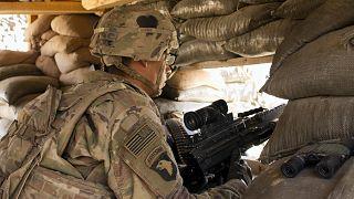 Irak'ta görev yapan Amerikan askeri (arşiv)