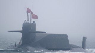 غواصة نووية تابعة للجيش الصيني