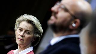 Charles Michel and Ursula von der Leyen