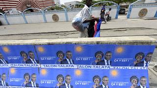 Benin's President Talon eyes re-election with few rivals in his path