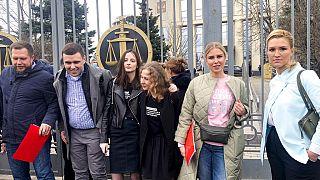 Aliados de Alexei Navalny