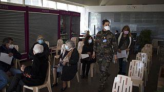 Les militaires contribuent à la vaccination