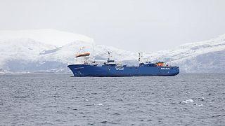 Resgate no Mar do Norte