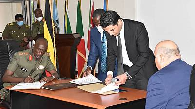 Egypt and Uganda sign military intelligence sharing agreement