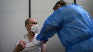 Fransa'da Covid-19 aşı kampanyası