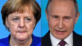 Merkel ve Putin Ukrayna konusunu görüştü