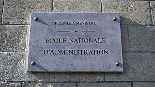 پلاک دانشسرای علوم اداری در پاریس