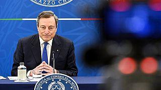 """Draghi califica de """"dictador"""" a Erdogan"""