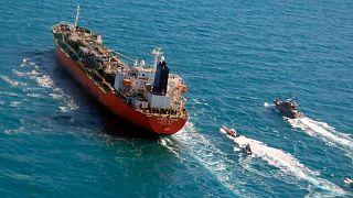 کشتی توقیف شده کره جنوبی توسط ایران