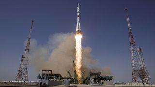 """La Soyuz """"Gagarin"""" arrivata sul'ISS"""