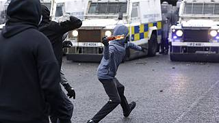 The comments come after a seventh straight night of violence in parts of Northern Ireland
