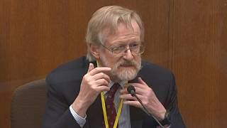 Dr Martin Tobin testified on Thursday that George Floyd died as a result of lack of oxygen