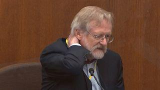 George Floyd morreu de asfixia, confirma especialista em tribunal