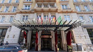 گراند هتل وین، محل برگزاری دومین نشست کمیسیون مشترک برجام