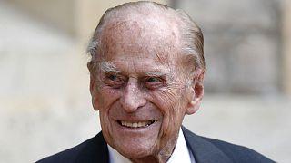 Archives : le Prince Philip, le 22 juillet 2020 au château de Windsor