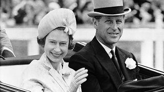 II. Erzsébet és Fülöp herceg 1962. június 19-én