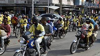 Motorbike taxis take centre stage ahead of Benin vote