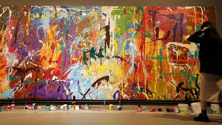 تخریب سهوی اثر هنری در کره جنوبی