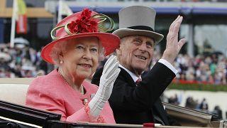 صورة للأمير فيليب والملكة إليزابيث عام 2011