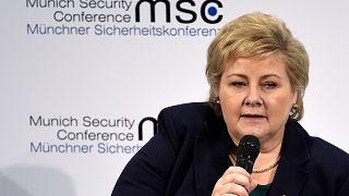 رئيسة وزراء النرويج إيرنا سولبيرغ