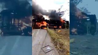 تصادف مرگبار اتوبوس در کنگو