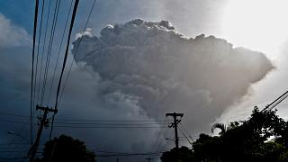 La Soufriere volcano erupts on the eastern Caribbean island of St. Vincent