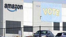 Echec de la tentative historique de syndicat dans un entrepôt d'Amazon aux Etats-Unis