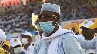 Tchad : dernier meeting de campagne d'Idriss Déby Itno