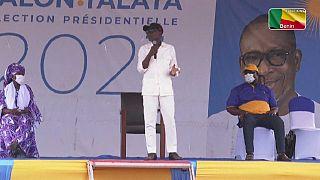 Bénin : dernier meeting de campagne pour Patrice Talon