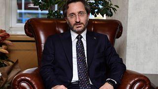 Cumhurbaşkanlığı İletişim Başkanı Fahrettin Altun