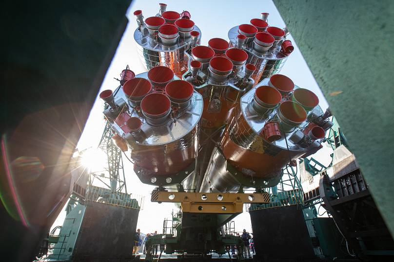 April 6, 2021. AFP Photo / Russian Space Agency Roscosmos