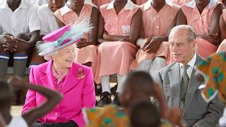 African leaders pay tribute to Britain's Prince Philip