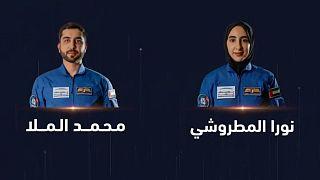 دو فضانورد جدید امارات