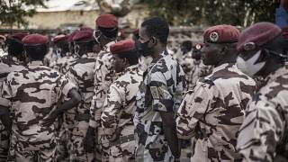 Chad's soldiers vote early in presidential election