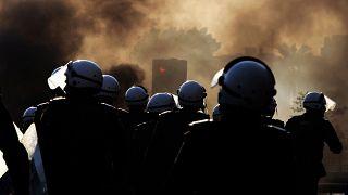 من مظاهرة مناهضة للسلطة البحرينية (أرشيف)