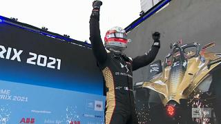 Verne celebrates victory