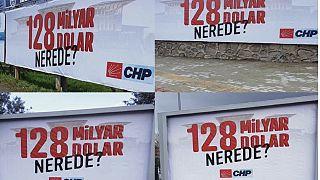 128 milyar nerede afişlerine soruşturma