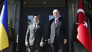 Ζελένσκι και Ερντογάν στην Κωνσταντινούπολη