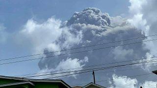 Der Vulkan La Soufriere