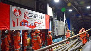 Şincan'da maden kazası