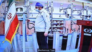 محرّك داخل مصنع نطنز لتخصيب اليورانيوم الإيراني